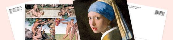 Kunst Postkaarten