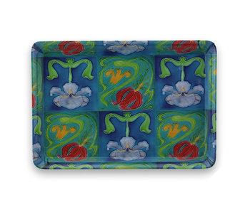 Mini tray, 21 x 14 cm, Art nouveau
