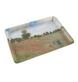Mini tray, 21 x 14 cm, Monet, Field with Poppies