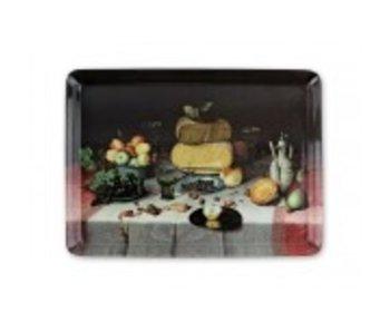 Midi tray (27 x 20 cm) Cheeses, F. van Dyck