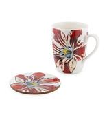Set: Mug-coaster, Tulip Marrel