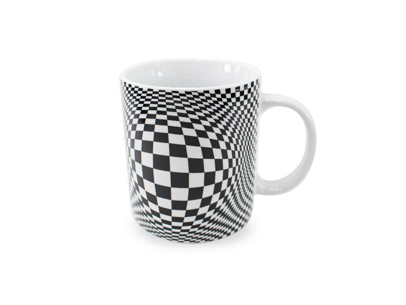 Tasse, illusion d'optique n ° 02