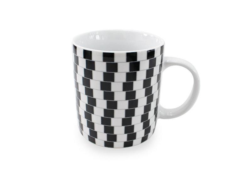 Tasse, illusion d'optique n ° 04 de 4