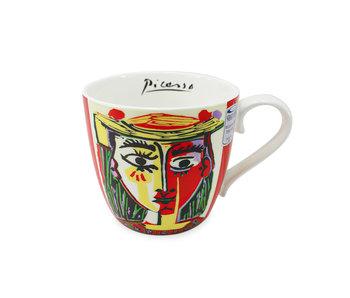 Becher, Frau mit Hut, Picasso