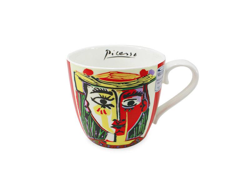 Becher, Mädchen mit Sombrero, Picasso