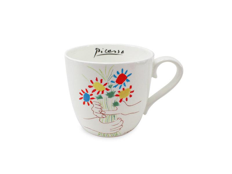 Tasse, Bouquet d'amitié, Picasso