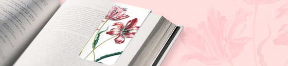 Bloemen boekenleggers
