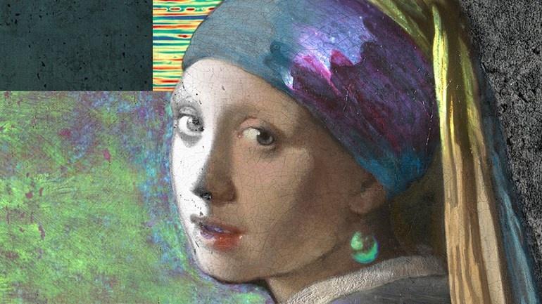 Neue Entdeckungen - Mädchen mit Perlenohrring