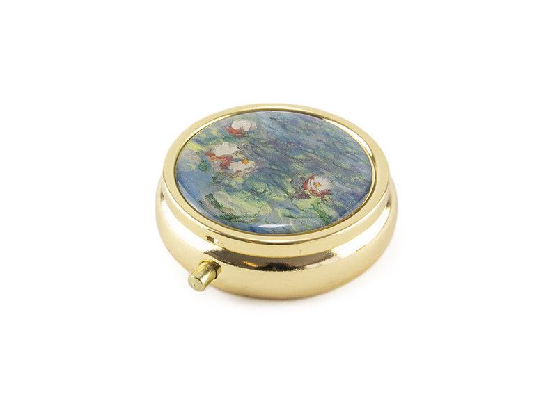 Pillendoosje,  Monet, Waterlelies