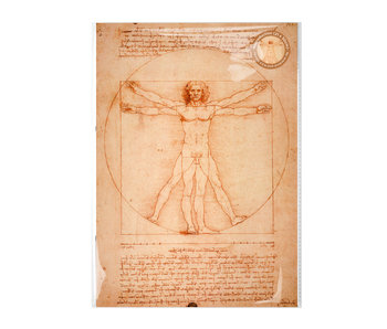 Reproduction A4,  Da Vinci, Vitruvian Man