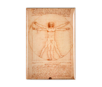 Fridge magnet, Da Vinci, Vitruvian Man