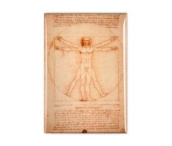 Imán de nevera, Da Vinci, hombre de Vitruvio