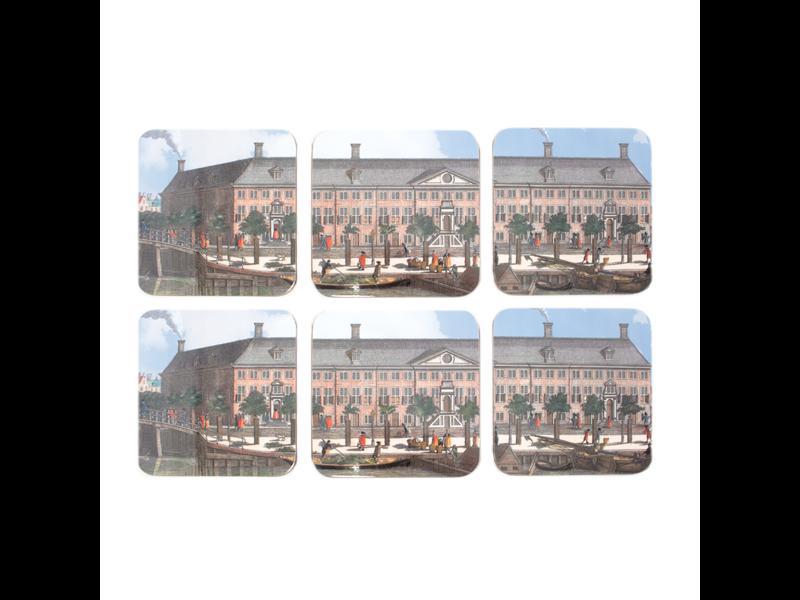 Onderzetters, Hermitage Amsterdam