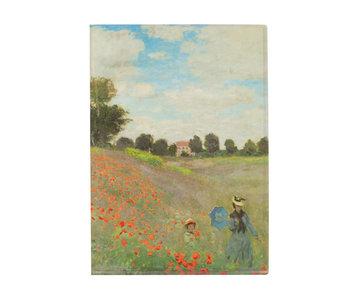 Funda portadocumentos, A4, Monet, campo de amapolas