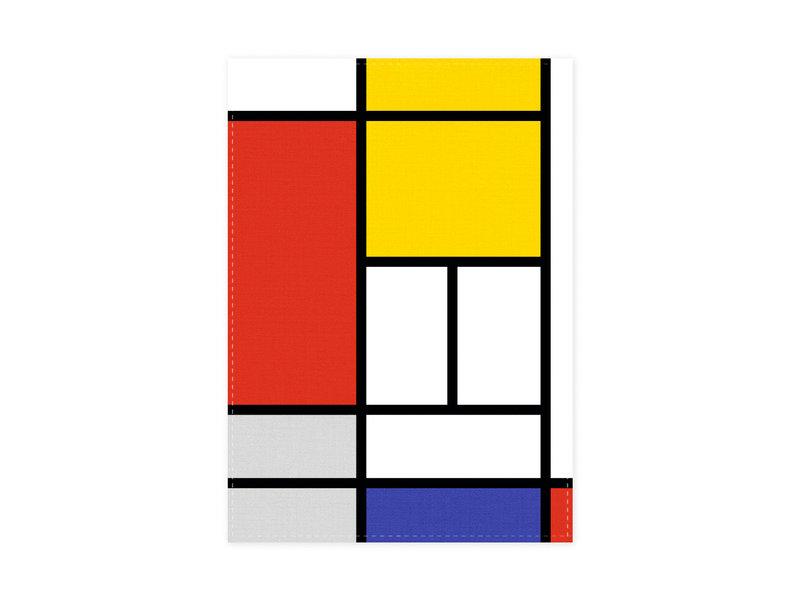 Geschirrtuch, Mondrian