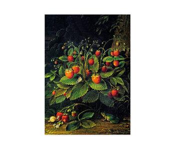 Geschirrtuch, Schlesinger, Erdbeeren