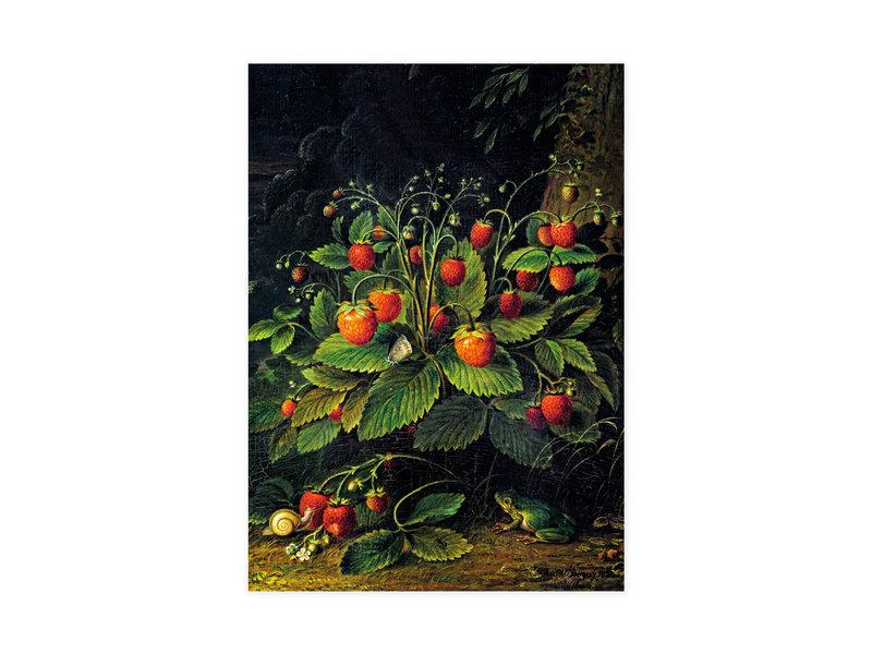 Küchenhandtuch , Schlesinger, Erdbeeren