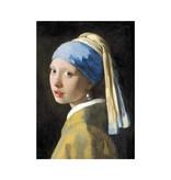 Paño de cocina, Niña con arete de perla, Vermeer