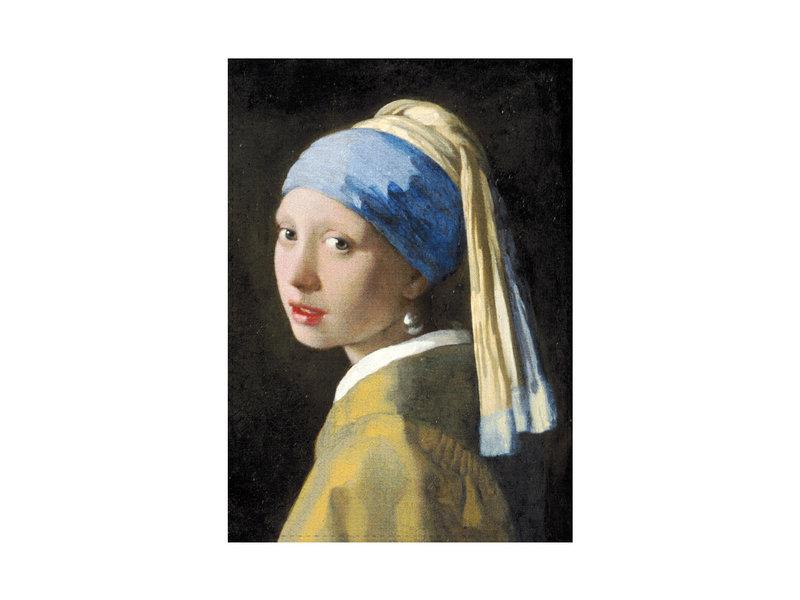 Torchon, Fille avec une boucle d'oreille en perle, Vermeer