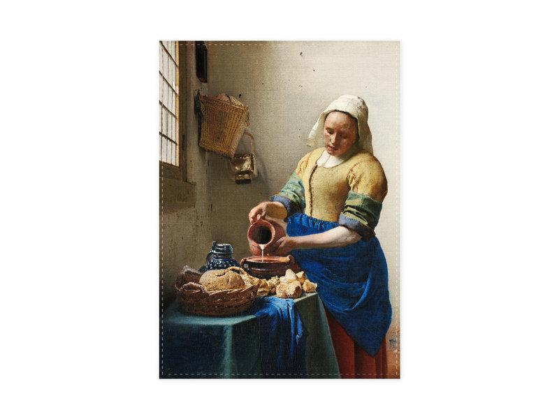 Geschirrtuch, Milchmädchen, Vermeer