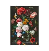 Geschirrtuch, Blumenstillleben, De Heem