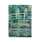 Geschirrtuch, japanische Brücke, Monet