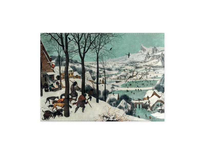 Geschirrtuch, Jäger im Schnee, Bruegel