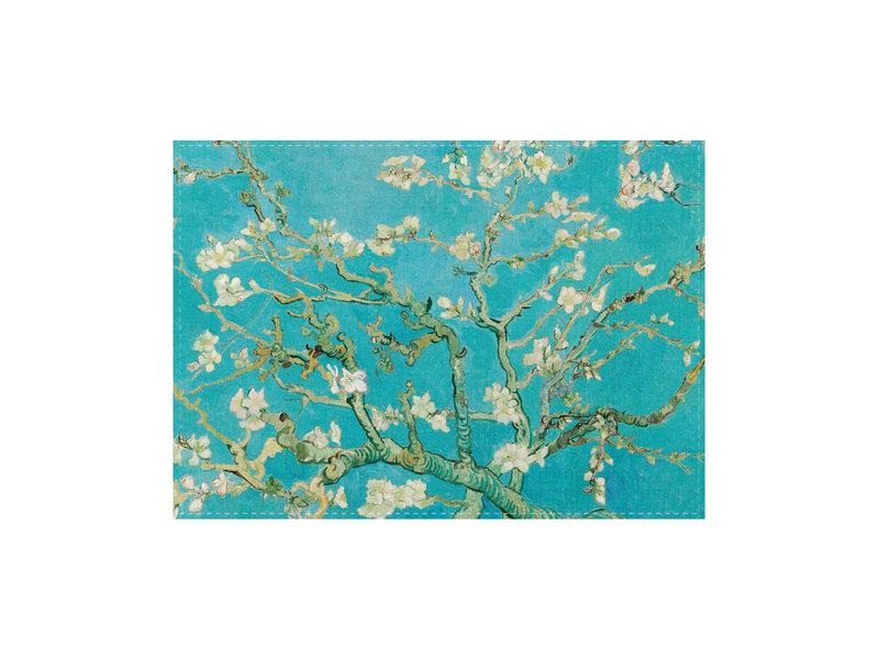 Paño de cocina, flor de almendro, Van Gogh