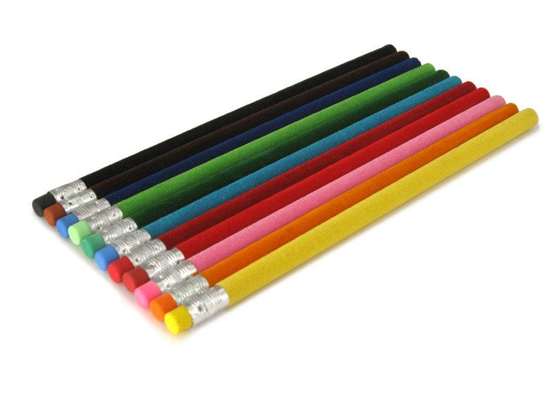Bleistift mit samtige Oberfläche,Braun