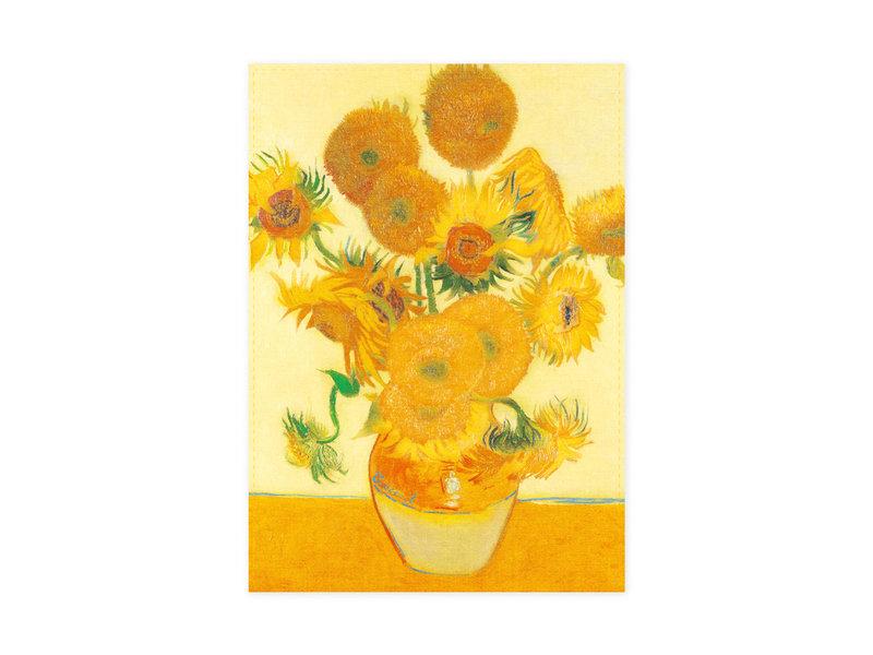 Theedoek, Zonnebloemen, Van Gogh