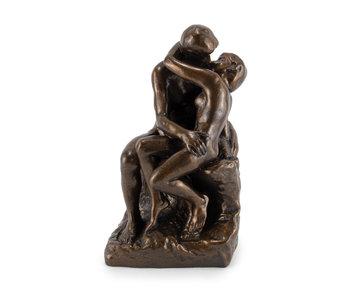 Replica beeldje, August Rodin, De kus