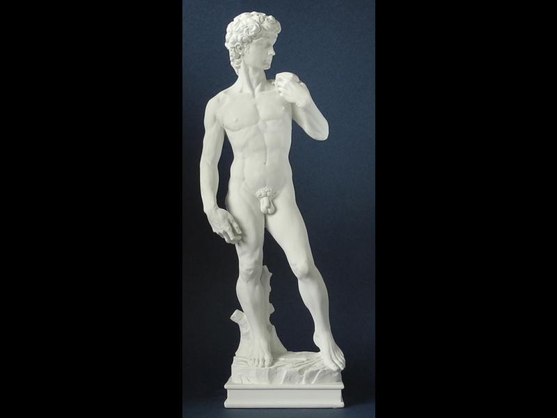 Replica Figures, Michelangelo, David