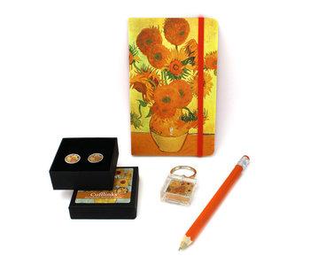 Geschenkset für ihn, Van Gogh, Sonnenblumen