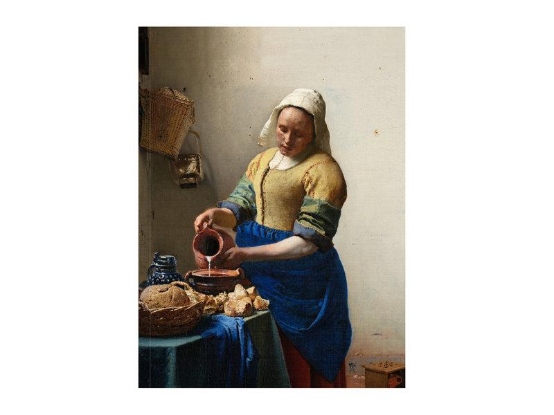 Softcover Kunst Skizzenbuch, Milchmädchen Vermeer