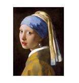 Carnet de croquis à couverture souple, Fille avec une boucle d'oreille perle, Vermeer