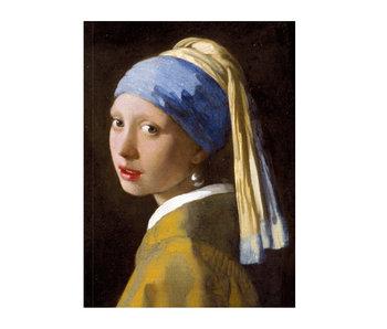 Cahier d'artiste, Fille avec une boucle d'oreille perle, Vermeer
