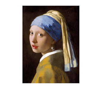 Künstlerjournal,  Mädchen mit Perlenohrring, Vermeer