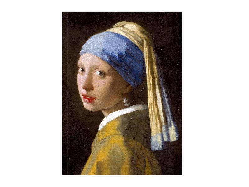 Softcover Kunst Skizzenbuch,  Mädchen mit Perlenohrring, Vermeer