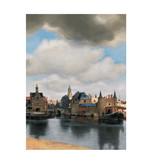 Softcover Kunst Skizzenbuch, Blick auf Delft, Vermeer