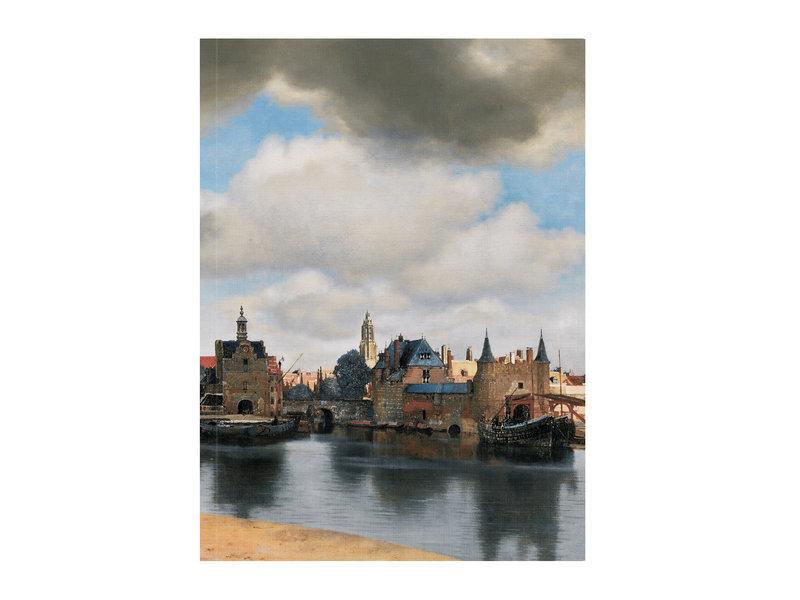 Softcover art sketchbook,  View of Delft, Vermeer
