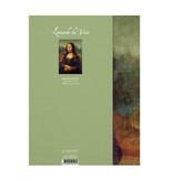 Softcover Kunst Skizzenbuch,  Mona Lisa, Leonardo Da Vinci