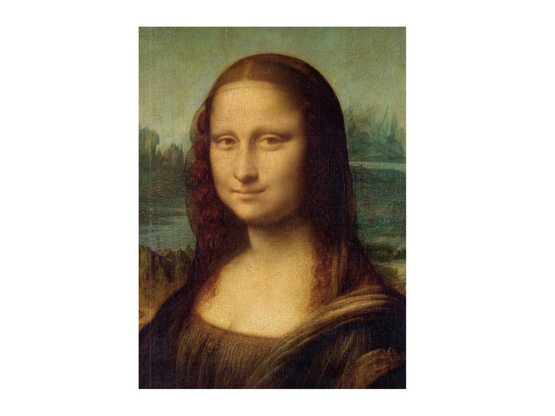 Softcover kunst schetsboek, Mona Lisa, Leonardo Da Vinci