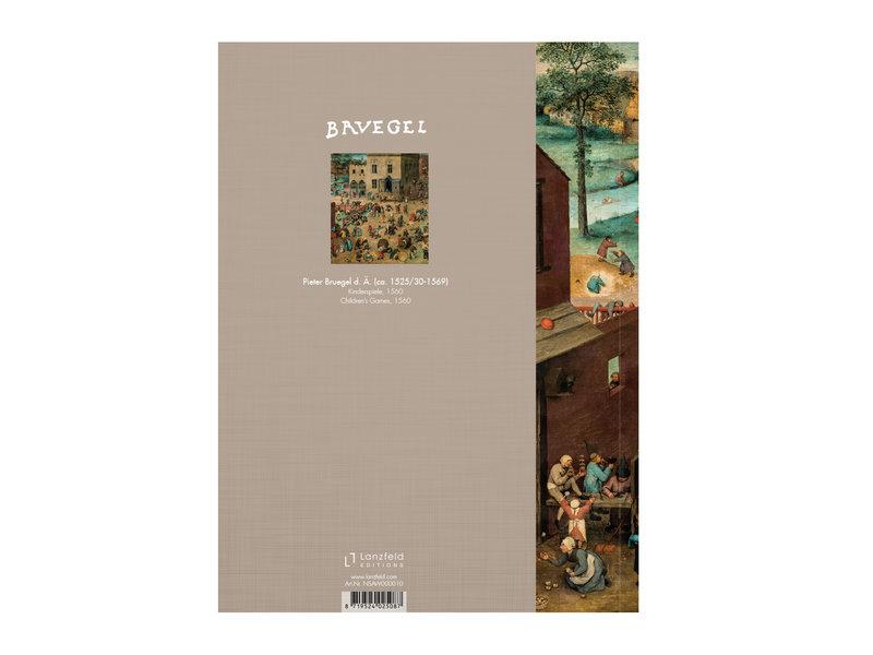Softcover Kunst Skizzenbuch,  Bruegel, Kinderspiele