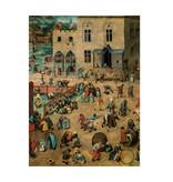 Softcover kunst schetsboek, Bruegel, Kinderspelen