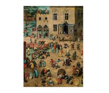 Cahier d'artiste, Bruegel, Jeux pour enfants