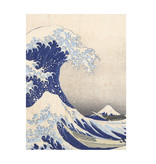 Softcover kunst schetsboek, Hokusai, De grote golf