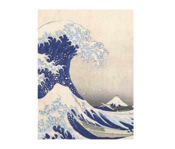 Cahier d'artiste, Hokusai, La grande vague