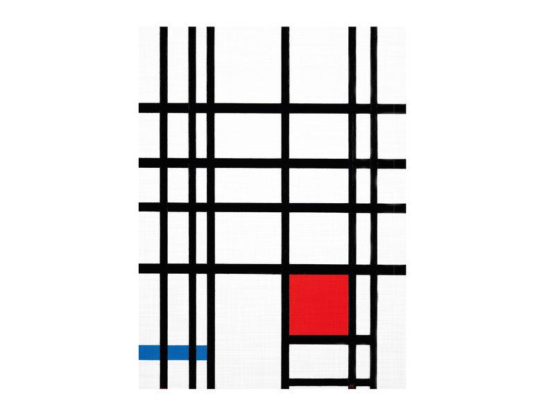 Softcover kunst schetsboek, Mondriaan2