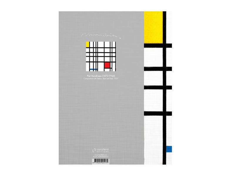 Carnet de croquis à couverture souple, Mondriaan  2