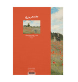 Softcover Kunst Skizzenbuch,  Monet, Mohnfeld